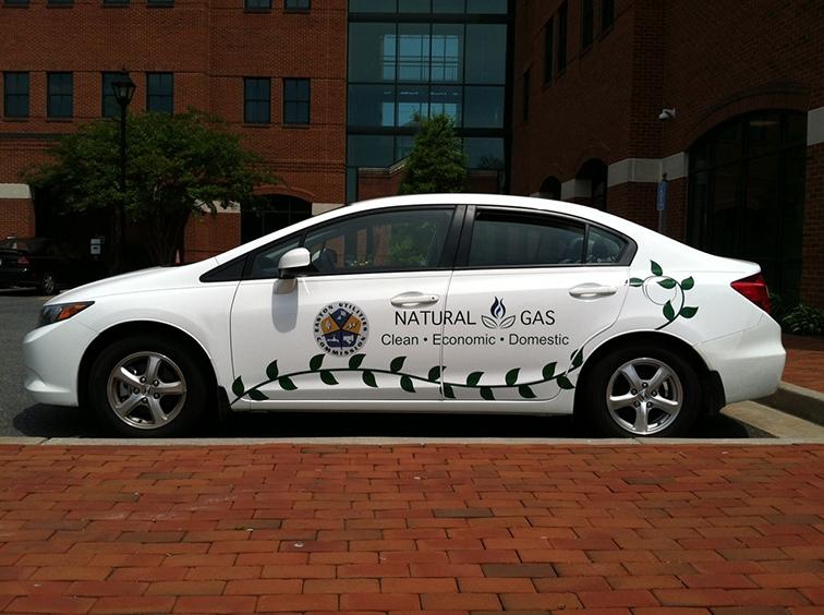 Natural Gas Vehicle- car